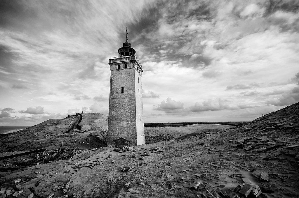 Rubjerg Knude abandonned light house - mono version