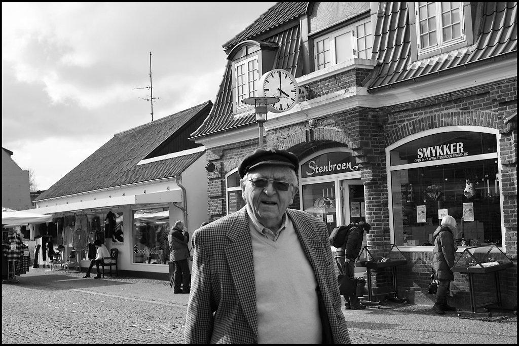 Old guy, Skagen