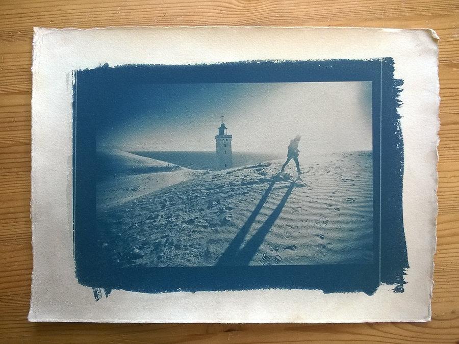 Rubjerg knude, Cyanotype